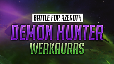 Demon Hunter WeakAuras for World of Warcraft: Battle for Azeroth