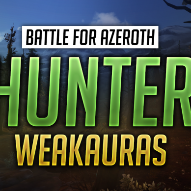 Hunter WeakAuras for World of Warcraft: Battle for Azeroth