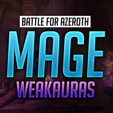 Mage WeakAuras for World of Warcraft: Battle for Azeroth