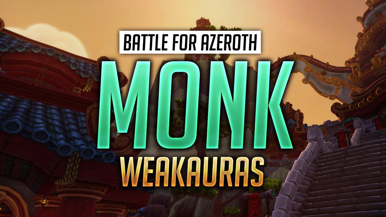 Monk WeakAuras for World of Warcraft - Luxthos
