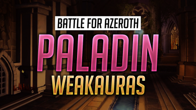 Paladin WeakAuras for World of Warcraft: Battle for Azeroth