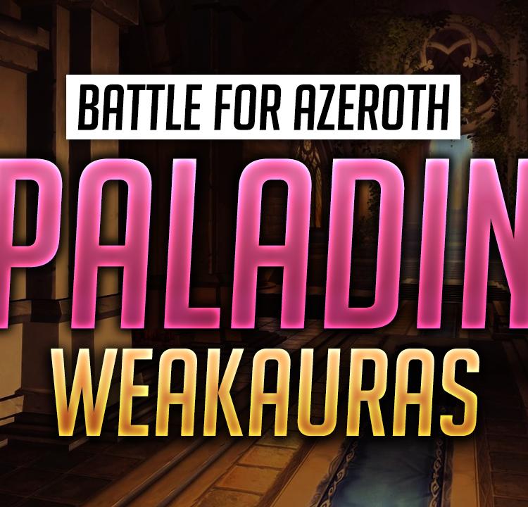 Paladin WeakAuras for World of Warcraft - Luxthos