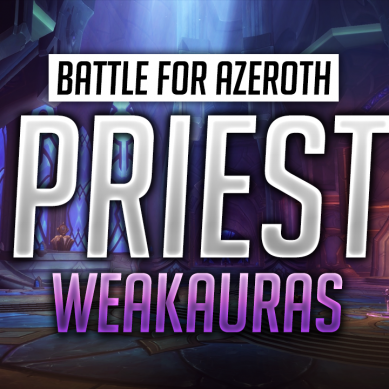 Priest WeakAuras for World of Warcraft: Battle for Azeroth