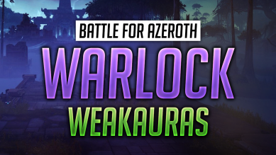 Warlock WeakAuras for World of Warcraft: Battle for Azeroth