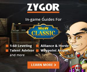 Zygor Classic 300x250