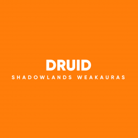 Druid WeakAuras for World of Warcraft: Shadowlands