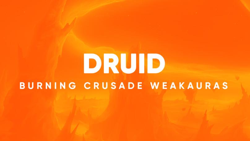 Druid WeakAuras for World of Warcraft: The Burning Crusade