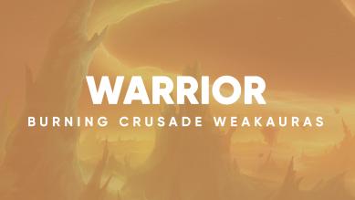 Warrior WeakAuras for World of Warcraft: The Burning Crusade